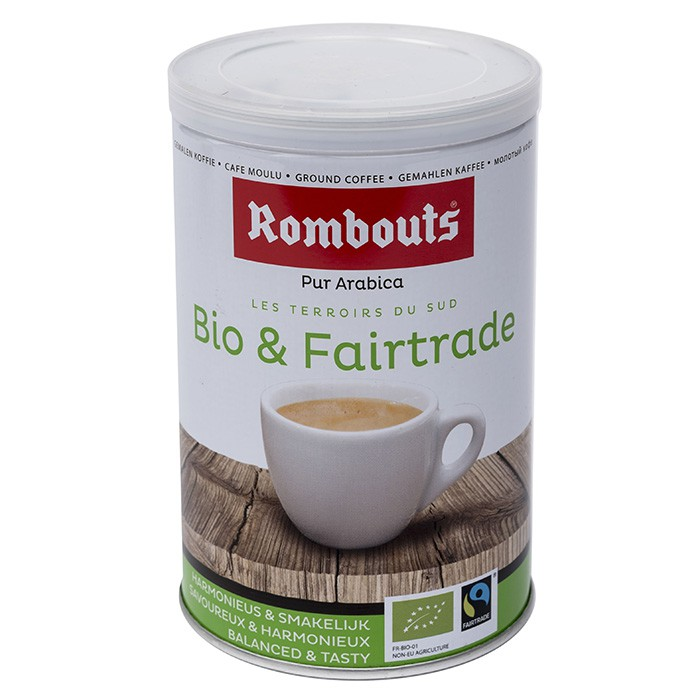 Bio & Fairtrade 250g moulu