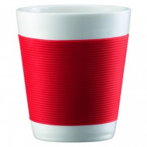 Bodum Canteen Red Mugs