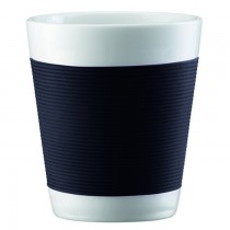 Bodum Canteen Black Mugs