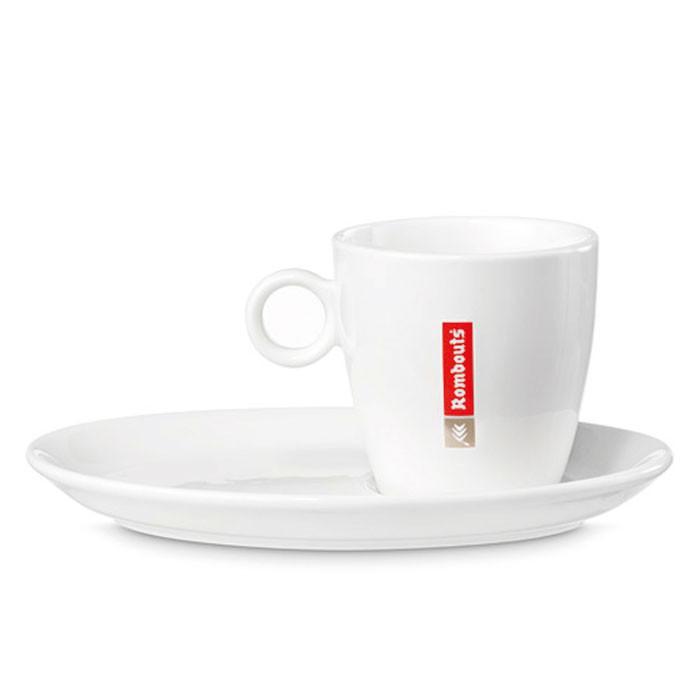 Porcelaine Rombouts Espresso 6pcs