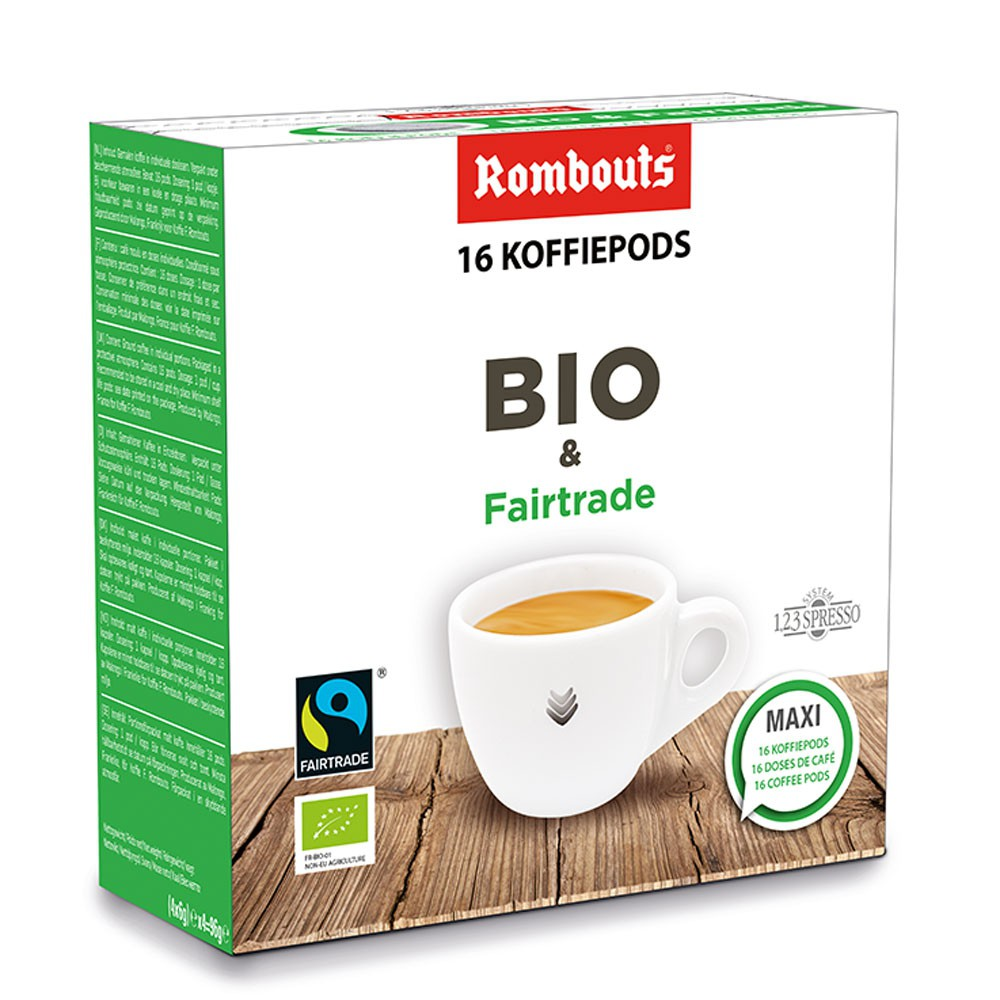 Bio & Fairtrade Pods 16pcs
