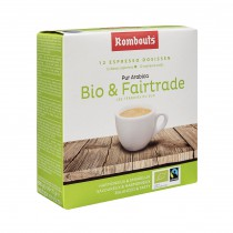 Bio & Fairtrade pods 12pcs