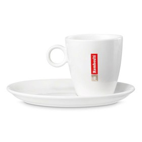 Rombouts porselein Lungo 4st
