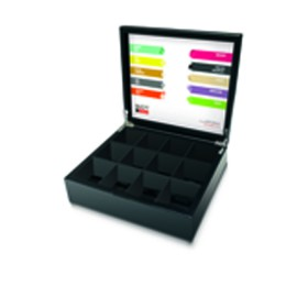 Boîte à thé - Flowwrap 12 casiers