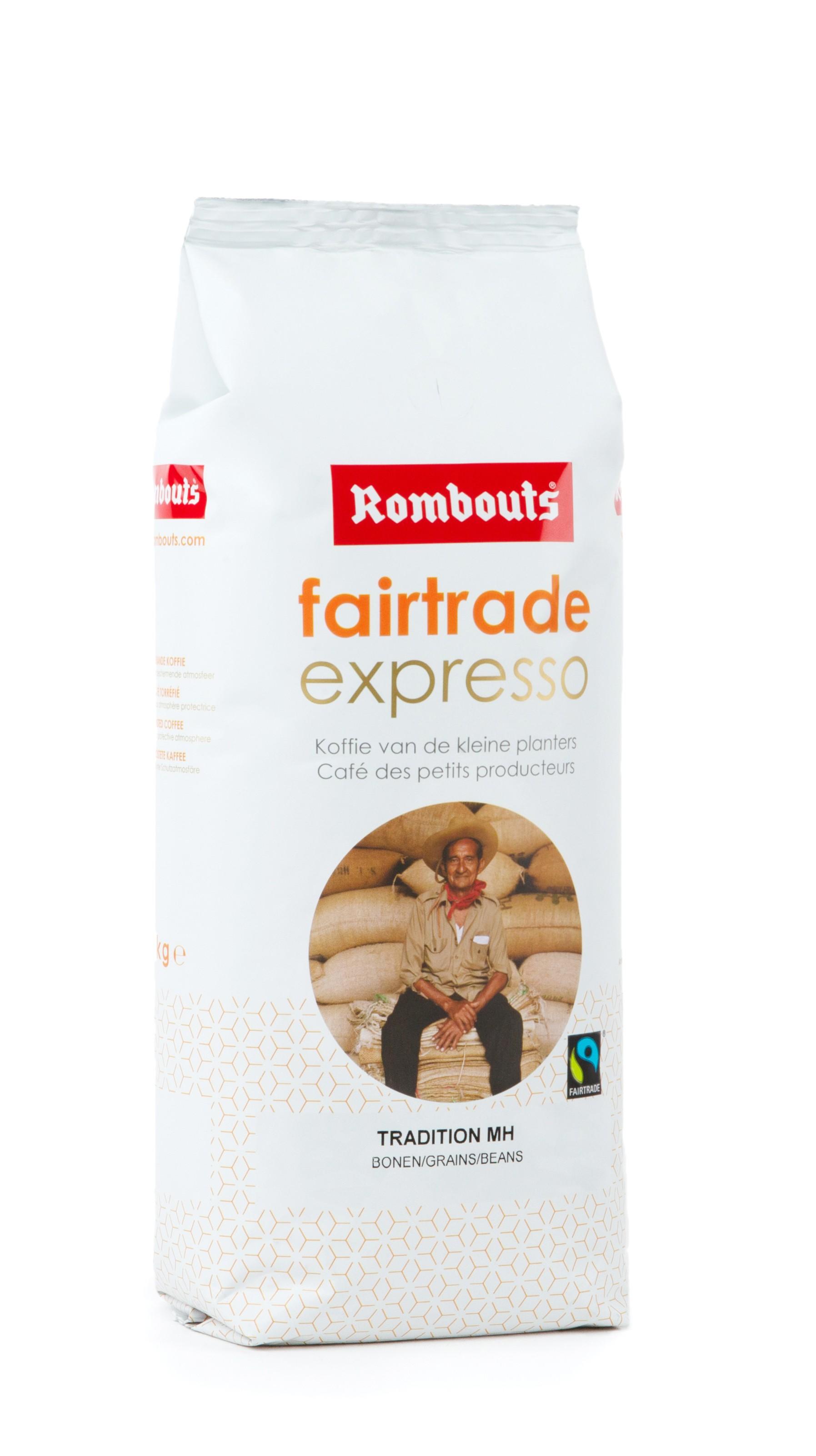 Fairtrade Expresso 1kg grains