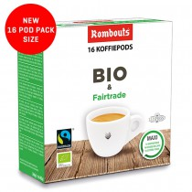 Bio & Fairtrade  10 x 16 pods