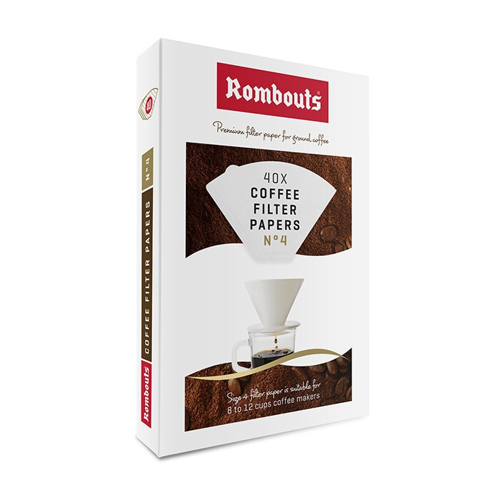 Rombouts Coffee Ceramic Coffee Filter Cone