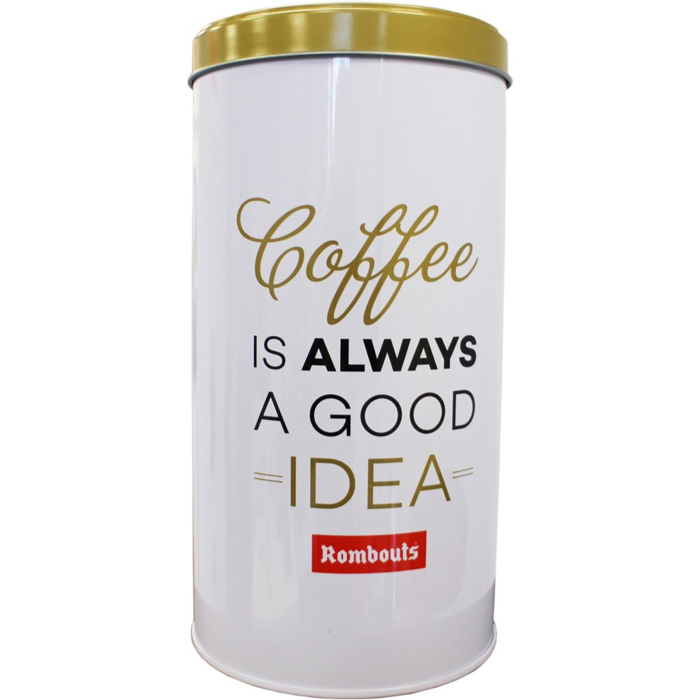 Rombouts Coffee Storage Tin