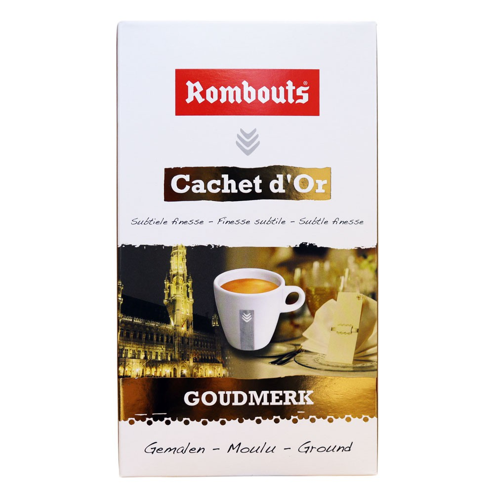 Cachet d'Or Ground Coffee