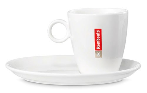 Rombouts Coffee Cups & Saucers