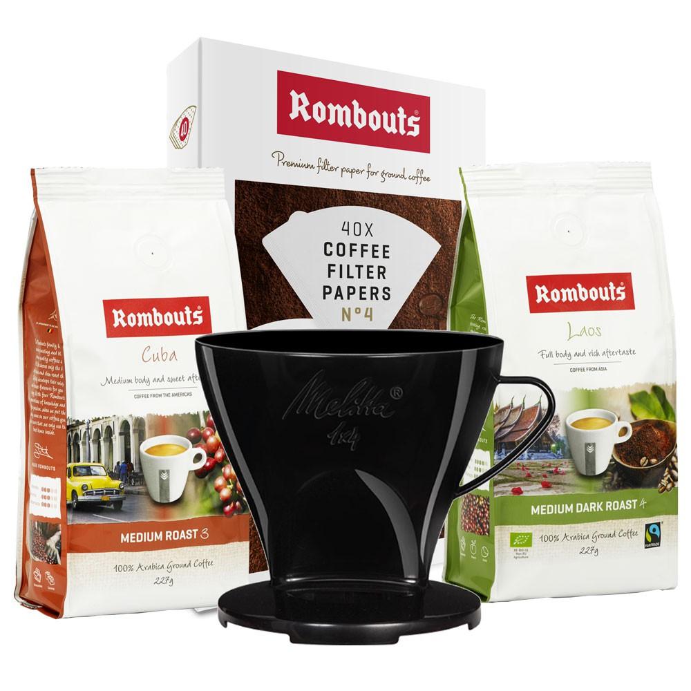 Filter Cone & Origin Coffee Bundle