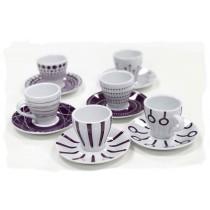 Bodum Paula Espresso Cups - Purple