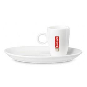 Espresso Cups & Saucers x 6