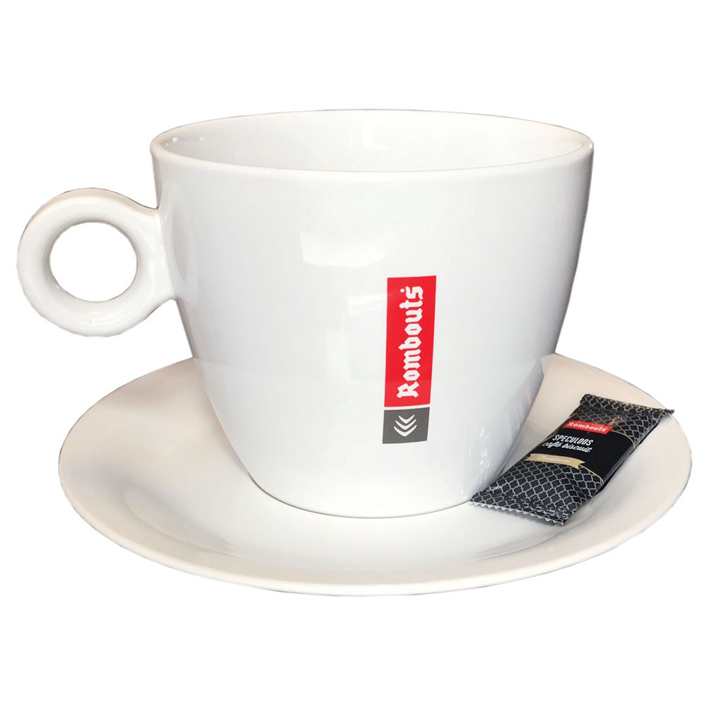 Rombouts XXL Cup & Saucer