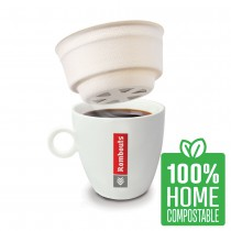 Italian Style Compostable One Cup Filters 80s