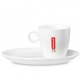 Rombouts 6oz Cups & Saucers