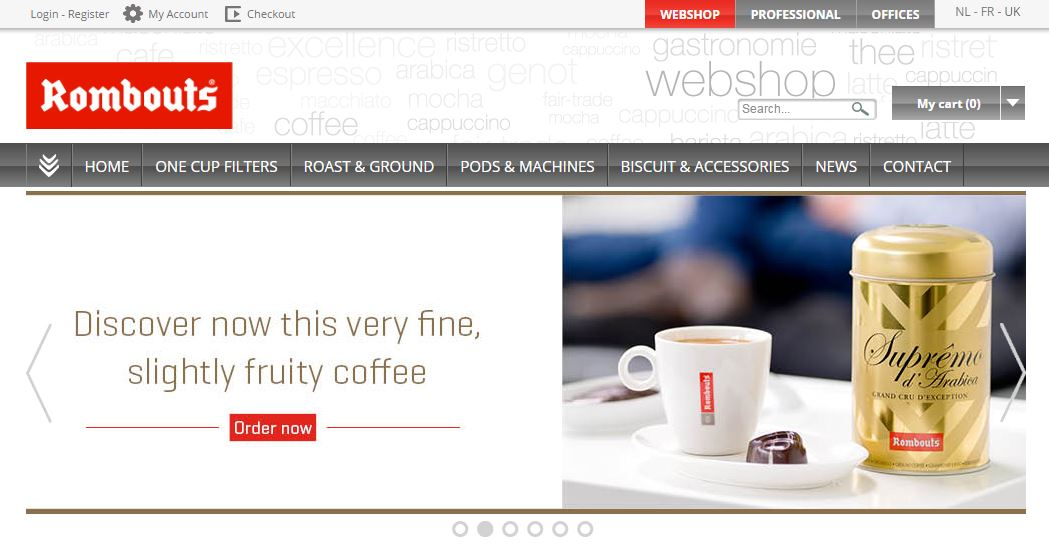 New rombouts.co.uk Website