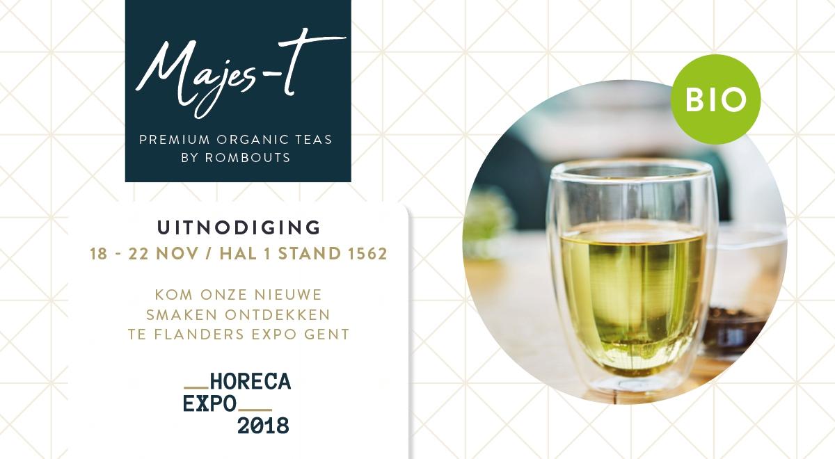 horeca expo organic tea
